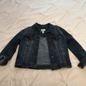 Cropped Forever21 Jean Jacket